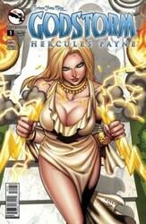 Zenescope - GFT Godstorm Hercules Payne # 1 C Cover Cucca