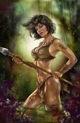 Zenescope - GFT Jungle Book Fall Of The Wild # 5 C Cover Delara