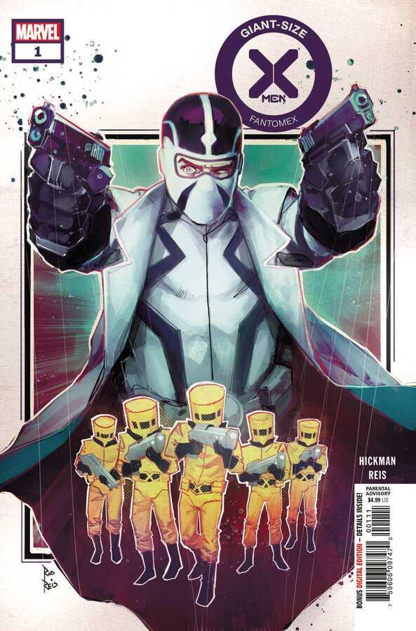 Marvel - Giant Size X-Men Fantomex # 1