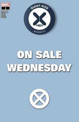 Marvel - Giant Size X-Men Magneto # 1 Wednesday Variant