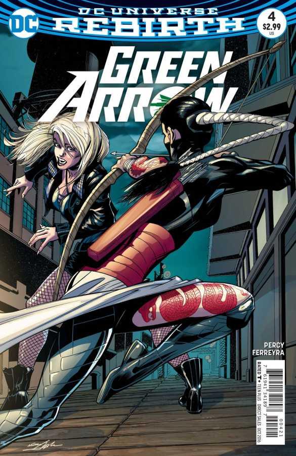 DC - Green Arrow # 4 Variant
