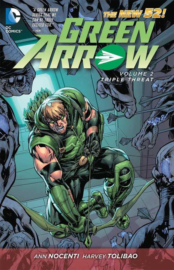 DC - Green Arrow (New 52) Vol 2 Triple Threat TPB
