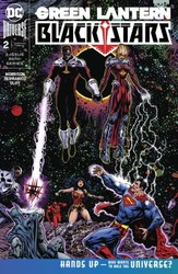 DC - Green Lantern Blackstars # 2