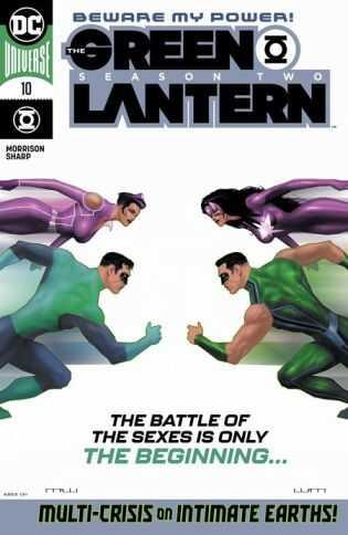 DC - Green Lantern Season 2 # 10