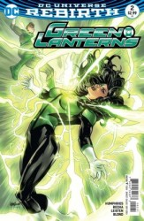 DC - Green Lanterns # 2 Variant