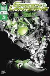 DC - Green Lanterns # 44 Variant