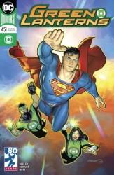 DC - Green Lanterns # 45 Variant