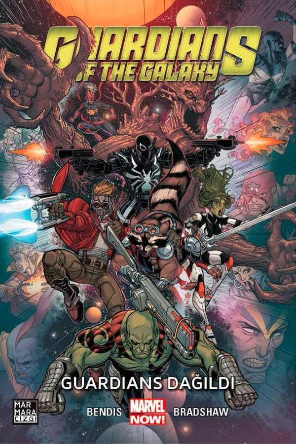 Marmara Çizgi - Guardians of The Galaxy Cilt 3 Guardians Dağıldı