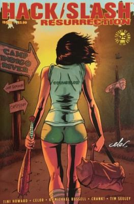 Hack Slash Resurrection # 1 Tim Seeley Cover A Celal Koç İmzalı