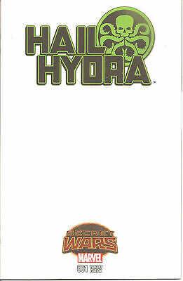 Marvel - Hail Hydra # 1 Blank Variant