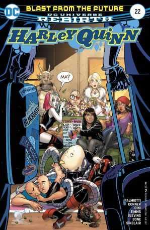 DC - Harley Quinn # 22