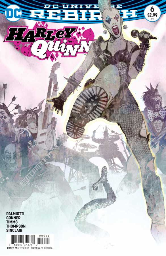 DC - Harley Quinn # 6 Variant