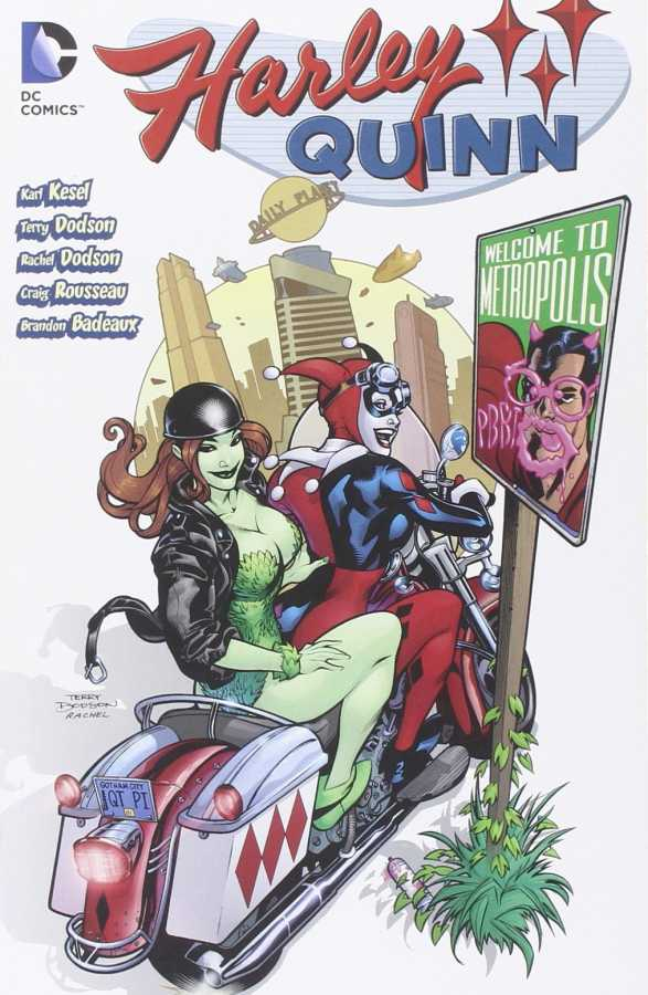 DC - Harley Quinn Welcome to Metropolis TPB