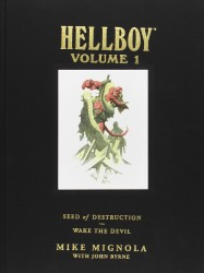 Dark Horse - Hellboy Library Edition Vol 1 Seed of Destruction and Wake the Devil HC