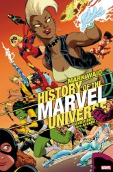 Marvel - History Of Marvel Universe # 4 Rodriguez Variant