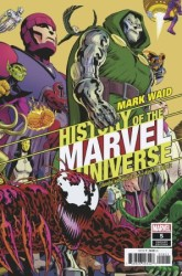 Marvel - History Of Marvel Universe # 5 Variant