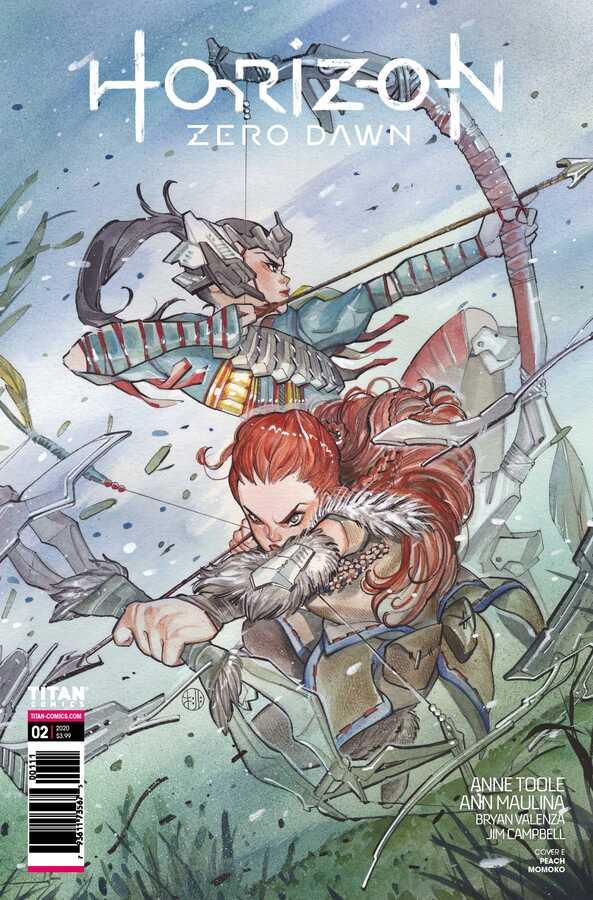 Titan Comics - Horizon Zero Dawn # 2 Peach Momoko Variant