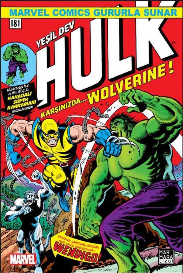 Marmara Çizgi - Hulk # 181