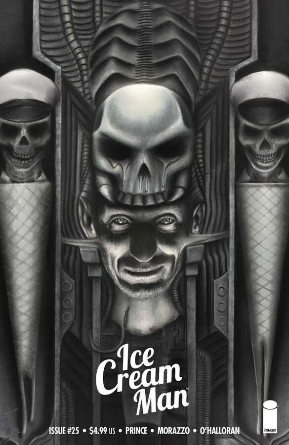 - ICE CREAM MAN # 25 EXCLUSIVE VARIANT TRADE DRESS