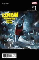 Marvel - Iceman # 1 Skan Hip Hop Variant