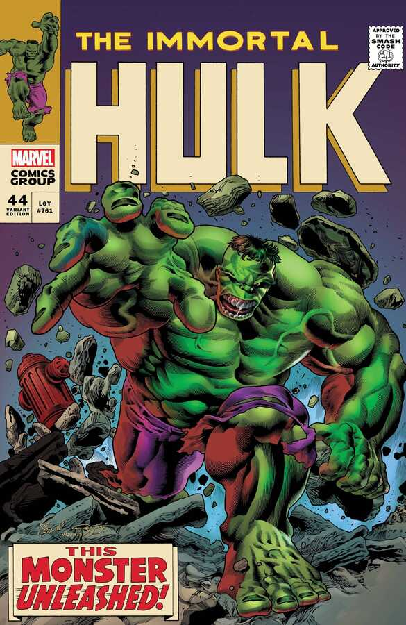 Marvel - IMMORTAL HULK # 44 BENNETT HOMAGE VAR