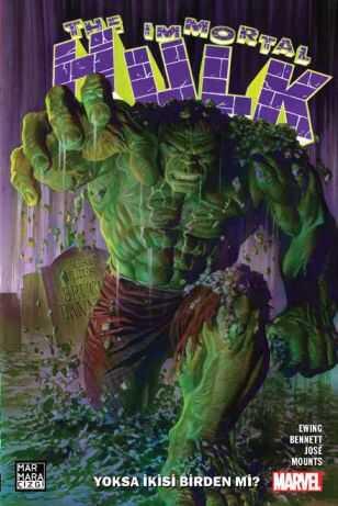 Marmara Çizgi - Immortal Hulk Cilt 1 Yoksa İkisi Birden Mi?