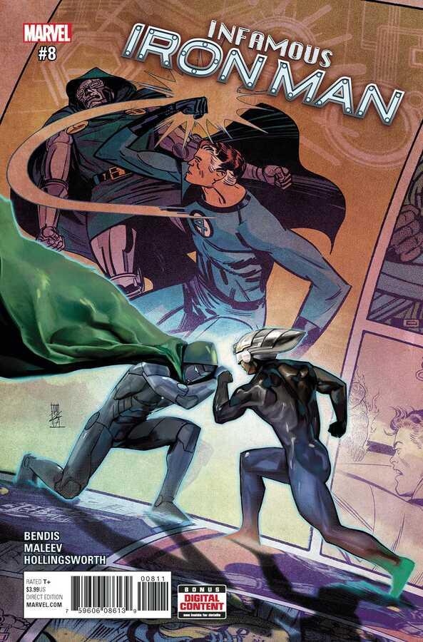 Marvel - Infamous Iron Man # 8