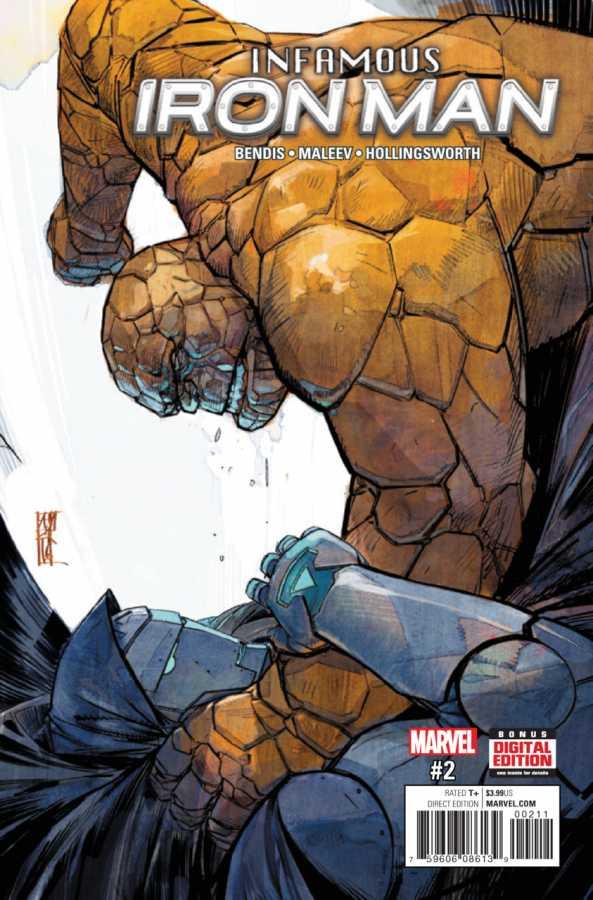 Marvel - Infamous Iron Man # 2 Second Printing