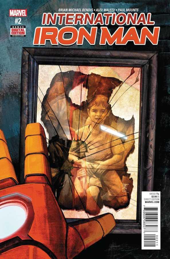 Marvel - International Iron Man # 2