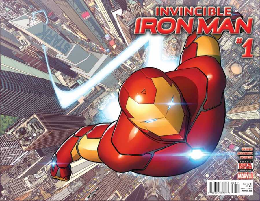 Marvel - Invincible Iron Man # 1 (2015) Premiere Variant