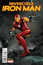 Marvel - Invincible Iron Man # 3 (2015) Epting Variant
