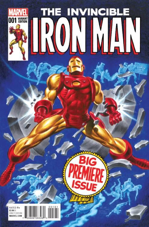 Marvel - Invincible Iron Man # 1 (2015) Timm Classic Variant