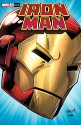 Marvel - IRON MAN # 4 NAUCK HEADSHOT VAR