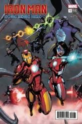 Marvel - Iron Man Hong Kong Heroes # 1 Crosby Variant
