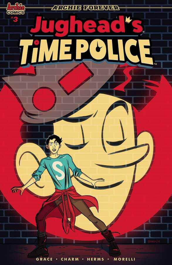 Archie Comics - JUGHEAD TIME POLICE # 3 (OF 5) CVR A CHARM