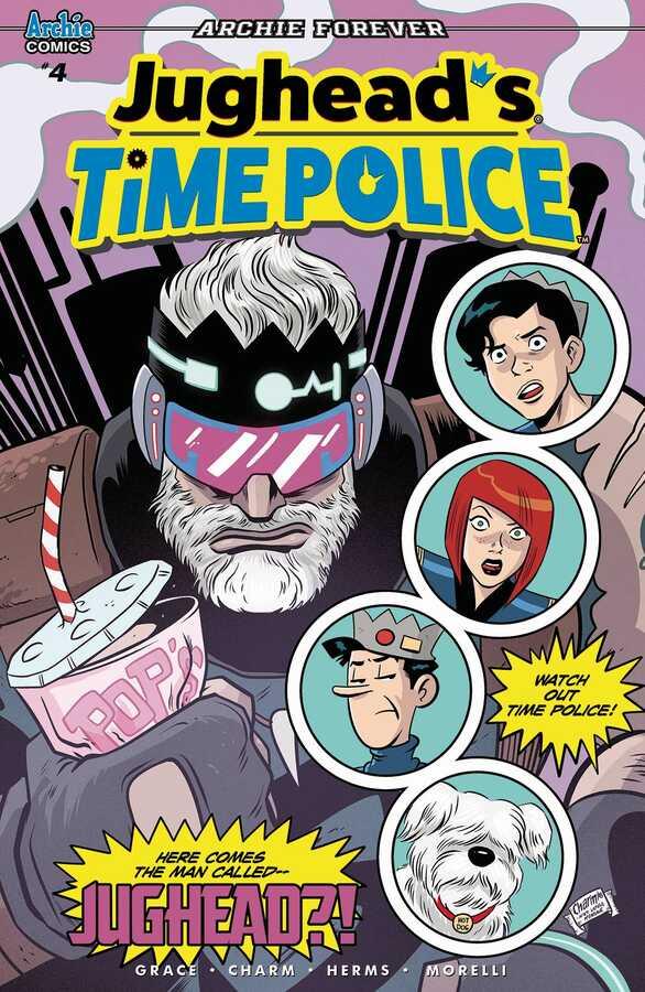 Archie Comics - JUGHEAD TIME POLICE # 4 (OF 5) CVR A CHARM