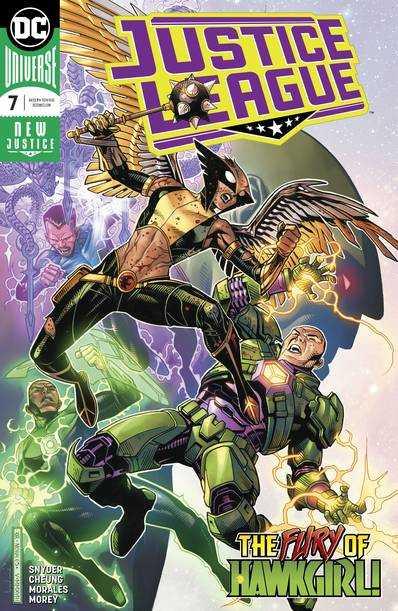 DC - Justice League (2018) # 7