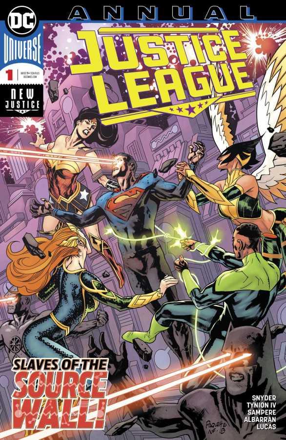 DC - Justice League (2018) Annual # 1