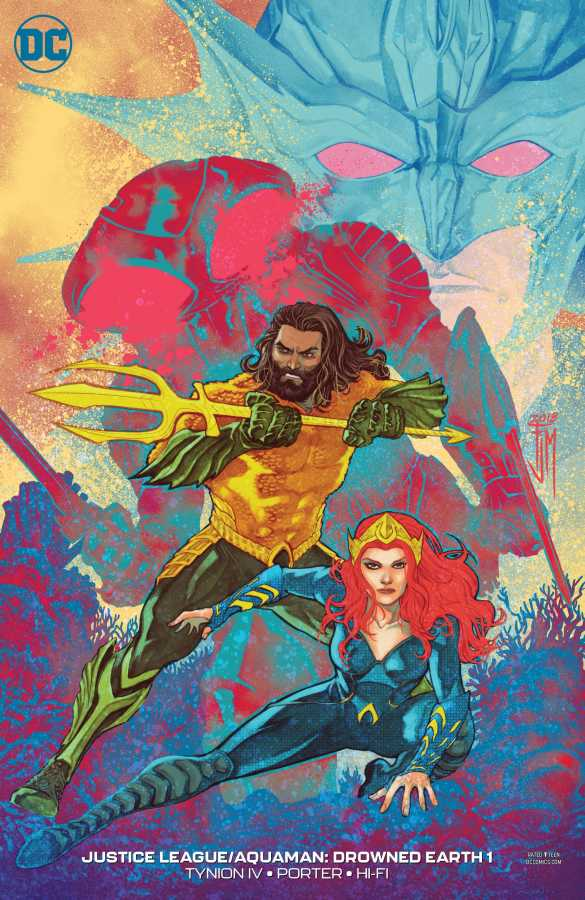 Justice League Aquaman Drowned Earth # 1 Variant