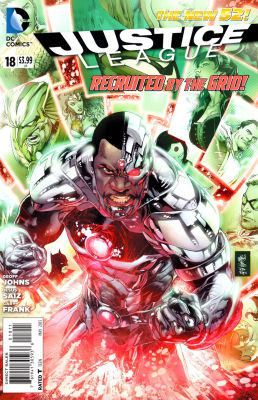 Justice League New 52 # 18