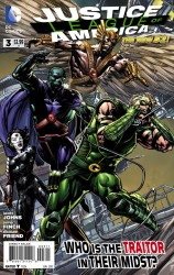 DC - Justice League of America (New 52) # 3