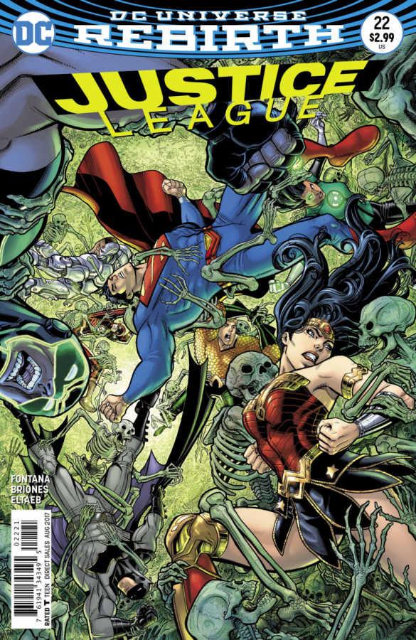 DC - Justice League # 22 Variant