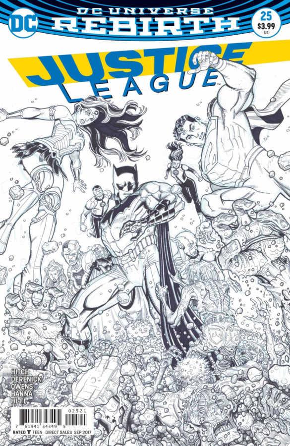 DC - Justice League # 25 Variant