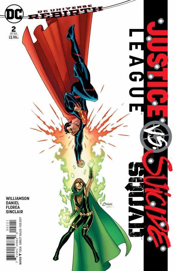 DC - Justice League vs Suicide Squad # 2 Amanda Conner Variant