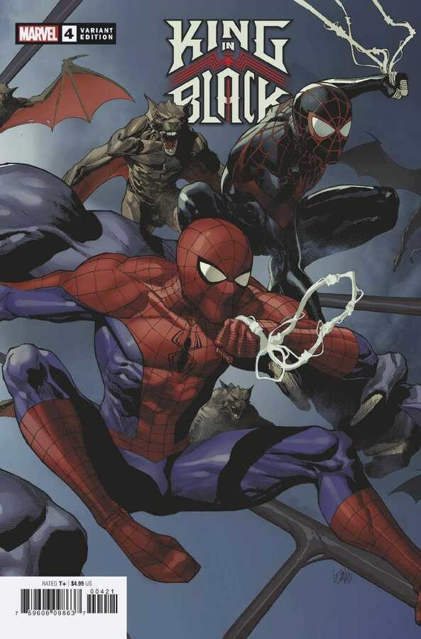 Marvel - KING IN BLACK # 4 (OF 5) YU CONNECTING VAR