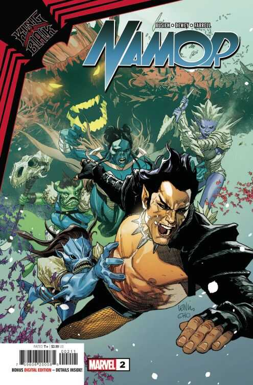 Marvel - King In Black Namor # 2