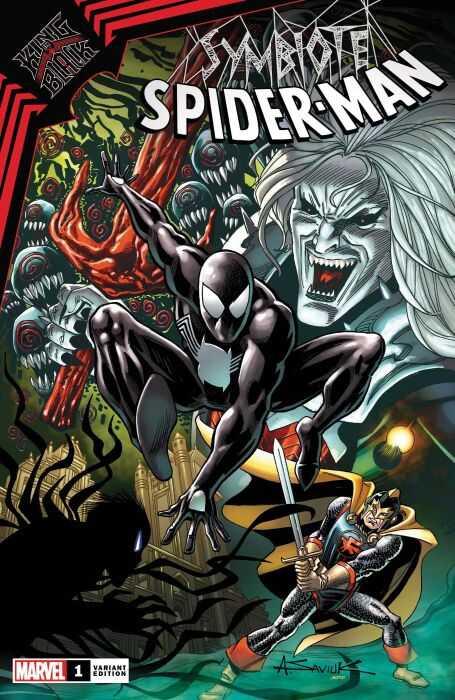 Marvel - King In Black Symbiote Spider-Man # 1 1:25 Saviuk Variant