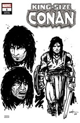 Marvel - King Size Conan # 1 Eastman Design Variant