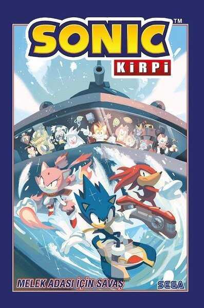 Presstij - Kirpi Sonic Cilt 3 Melek Adası İçin Savaş