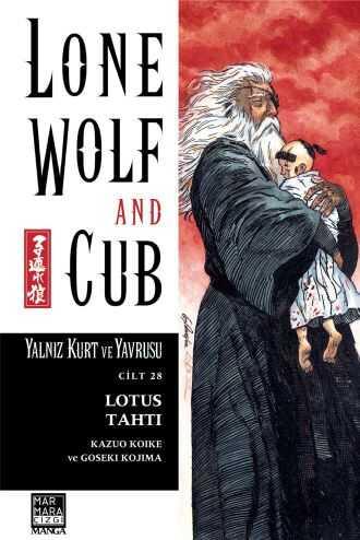 Marmara Çizgi - Lone Wolf And Cub - Yalnız Kurt Ve Yavrusu Cilt 28 Lotus Tahtı
